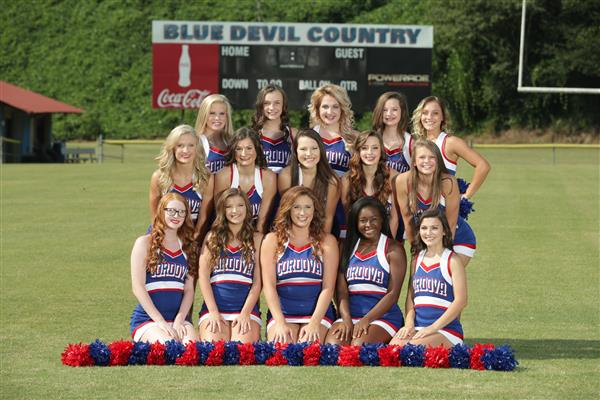 C.H.S. Cheerleaders-North Alabama Regional Champions and Walker County Gameday Champions