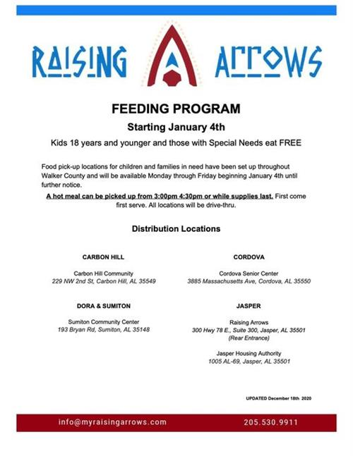 Raising Arrows Feeding Program