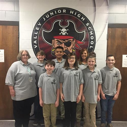 Quizz Bowl Team at VJH